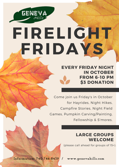 Friday night in October events